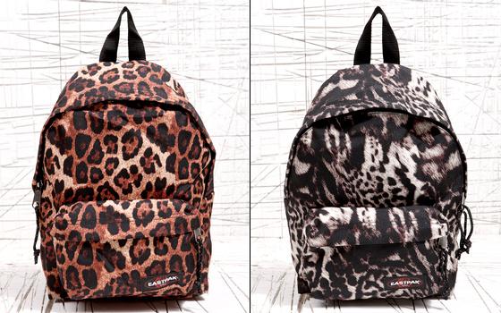 design de qualité 04851 14890 Sac à dos léopard Eastpak - Tendances de Mode